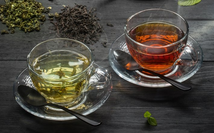 Black and Green tea- What is the difference?